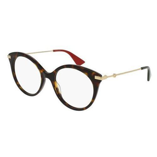 Okulary korekcyjne gg0109o 002 marki Gucci