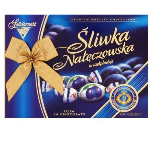 Śliwki w czekoladzie SOLIDARNOŚĆ 300g.