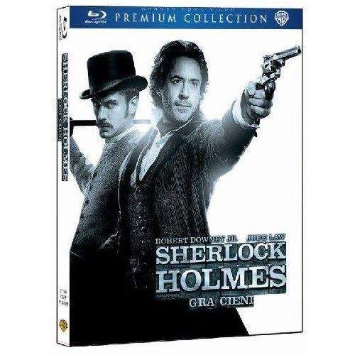 Sherlock holmes: gra cieni (bd) premium collection marki Galapagos films / warner bros. home video