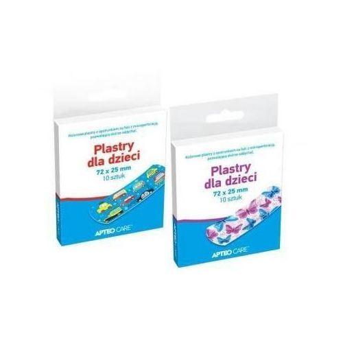 Synoptis pharma Apteo care plastry dla dzieci motylki x 10 sztuk
