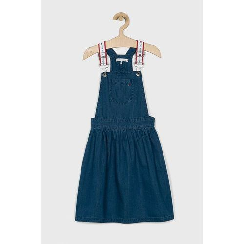 Tommy hilfiger - sukienka jeansowa dziecięca 128-176 cm