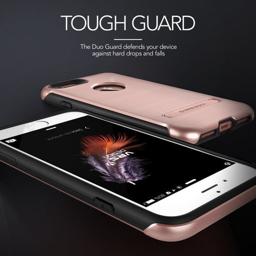 Etui duo guard do iphone 7 złoty róż marki Vrs design