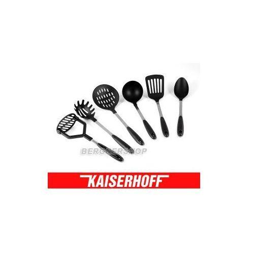 ZESTAW PRZYBORÓW KUCHENNYCH KAISERHOFF KH-1072 DO NACZYŃ TEFLONOWYCH, KH-1072