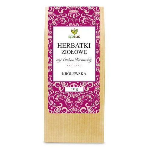 Ziołowa herbata królewska stefanii korżawskiej marki Ecoblik