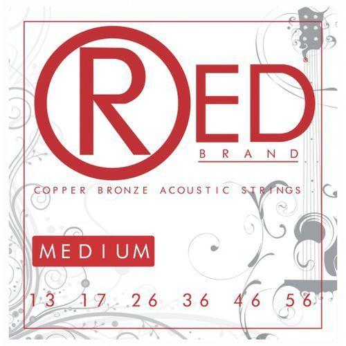 Cleartone RED Copper Bronze struny do gitary akustycznej 13-56