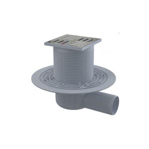 Kratka ściekowa 105x105 mm odpływ boczny  APV1311, Alcaplast
