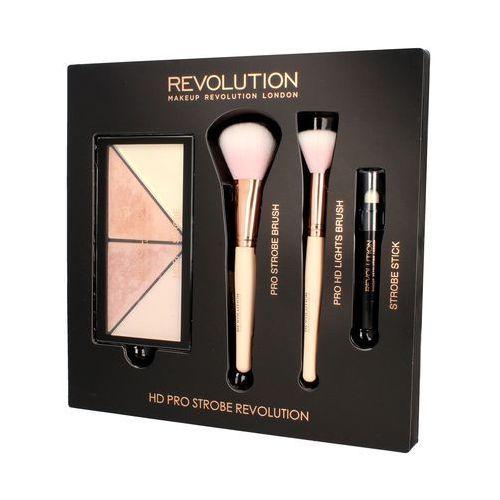 MAKEUP REVOLUTION - HD PRO STROBE REVOLUTION - Zestaw do rozświetlania twarzy