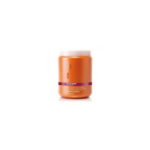 Inebrya Color, maska intensywnie nawilżająca do włosów farbowanych, 1000ml (8033219164555)