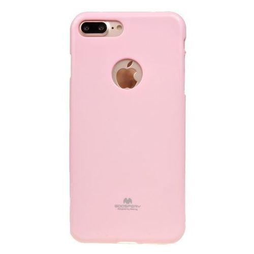 ETUI NAKŁADKA MERCURY GOOSPERY JELLY CASE do APPLE iPhone 7 Plus / iPhone 8 Plus pudrowy róż - pudrowy róż (9005613164232)