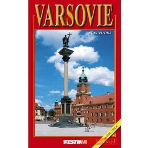 Warszawa i okolice. Wersja francuska (64 str.)