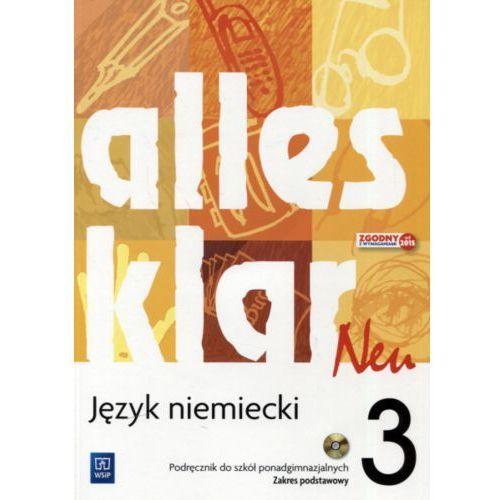 Język niemiecki Alles klar Neu 3 podręcznik LO / Zakres podstawowy - Krystyna Łuniewska, Zofia Wąsik (112 str.)