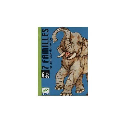 Gra karciana 7 rodzin zwierząt, 33607