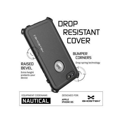 Etui ghostek nautical iPhone 6/ 6s wodoszczelne ip68, kolor czarny