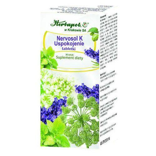 Herbapol kraków Nervosol k uspokojenie x 30 tabletek