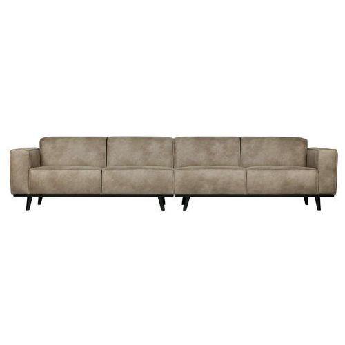 Be pure sofa statement xl 4-osobowa 372 cm skóra słonia 378656-105