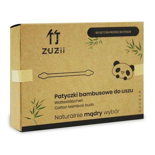Patyczki higieniczne bambusowe dla dzieci 50 szt - zuzii marki Zuzii (chusteczki, papier toaletowy)