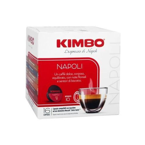 Kimbo dolce gusto napoli 16 kapsułek (8002200145477)