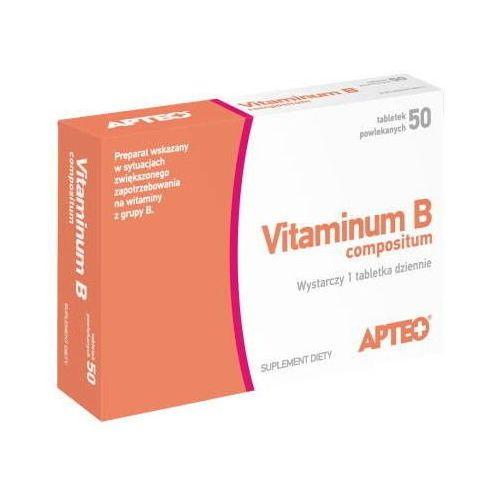 APTEO VITAMINUM B COMPOSITUM x 50 tabletek