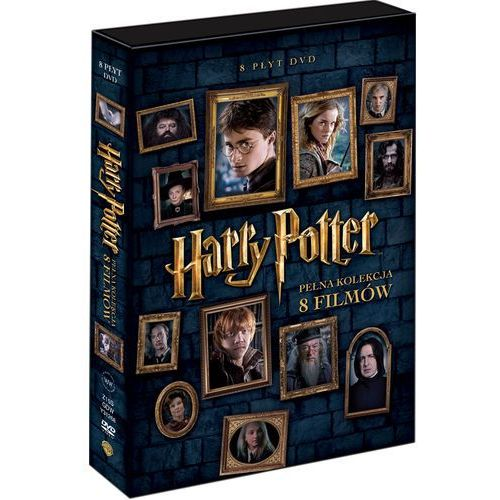 Harry Potter - Pełna Kolekcja 8 Filmów (DVD) - Chris Columbus; Alfonso Cuaron, Mike Newell, David Yates DARMOWA DOSTAWA KIOSK RUCHU