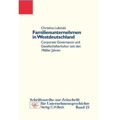 Familienunternehmen in Westdeutschland (9783406608070)