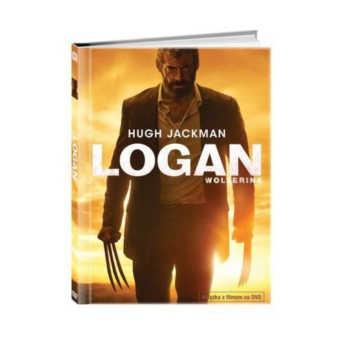 Logan: Wolverine (DVD) + Książka (5903570159978)