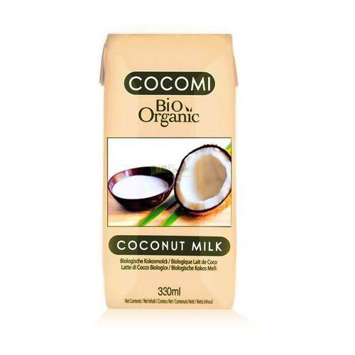 Cocomi (wody kokosowe, oleje kokosowe, śmietanki) Mleko kokosowe bio 330 ml - cocomi