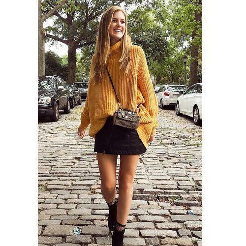 Damski sweter HARIETA, kolor żółty