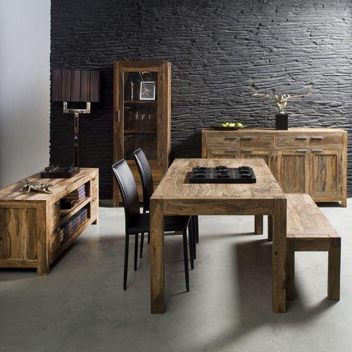 Kare Design Authentico Drewniany Stół Drewno Palisander lakier półmat 140x80 cm - 75473 - produkt dostępny w sfmeble.pl