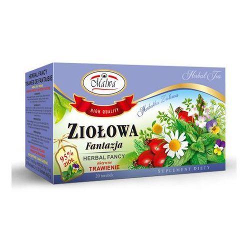 Herbata ZIOŁOWA FANTAZJA trawienie 20*2g MALWA (5902781000789)