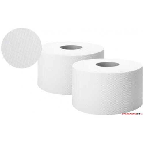 Papier toaletowy biały 130m 2 warstwy celuloza JUMBO ELLIS COMFORT