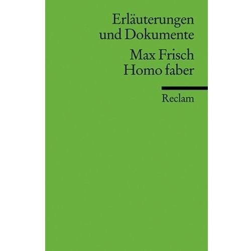 Max Frisch 'Homo Faber'