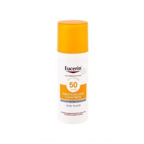 Eucerin Sun Photoaging Control Sun Fluid SPF50 preparat samoopalający do twarzy 50 ml unisex