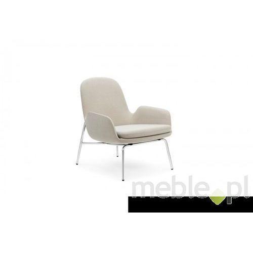 Fotel Era Chromowy z Niskim Oparciem gabriel-breeze fusion Normann Copenhagen 602844 z kategorii fotele