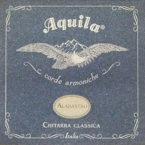 alabastro nylgut & silver plated copper struny do gitary klasycznej normal tension marki Aquila