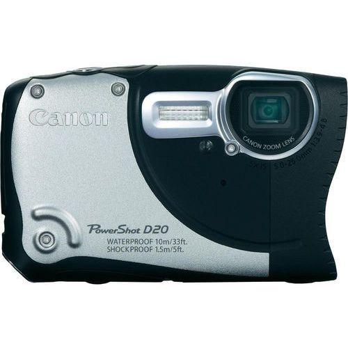 Canon PowerShot D20 [zoom optyczny 5x]