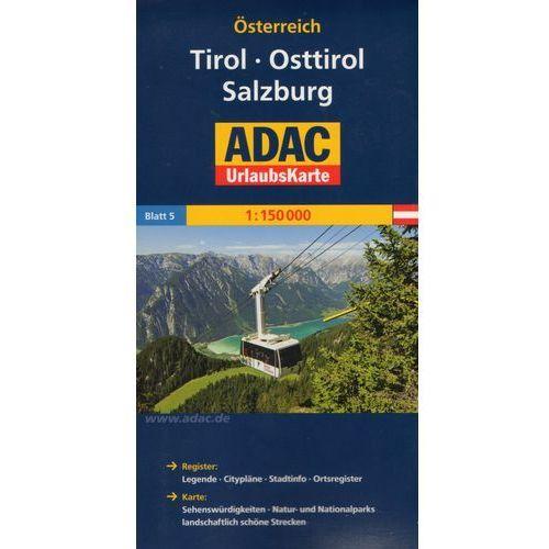 Osterreich. Tirol. Osttirol. Salzburg. ADAC LanderKarte 1:150 000 (9783826416415)