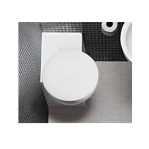 You & Me Hatria miska WC stojąca narożna z deską 37,5x50,5 - Y0KE - sprawdź w wybranym sklepie
