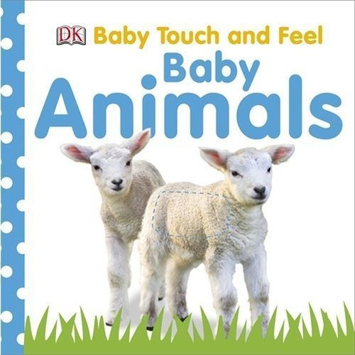 Baby Touch and Feel Baby Animals, oprawa twarda