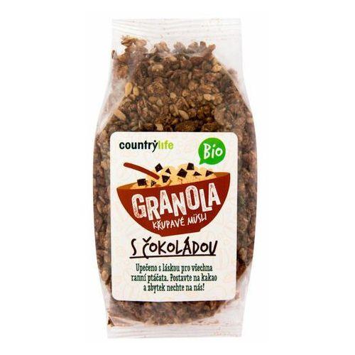 Country life bio granola - chrupiące płatki owsiane 350g
