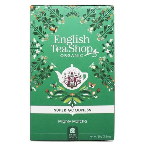English tea sho Herbata zielona mighty matcha 20x1,75g bio 35 g p