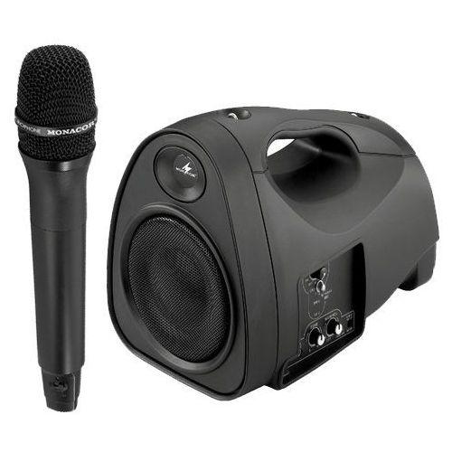 Monacor Txa-110 + mikrofon bezprzewodowy ręczny txa-100ht