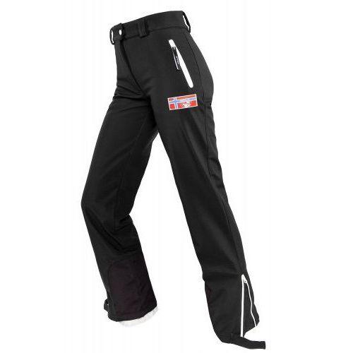 Spodnie narciarskie softshell racepant damskie marki Nebulus