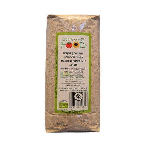 Mąka Gryczana Pełnoziarnista Bezglutenowa BIO 1 kg Denver Food