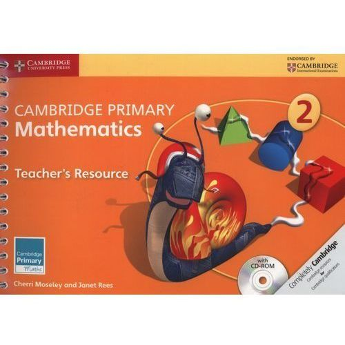 Cambridge Primary Mathematics Stage 2 Teacher's Resource With Cd-rom, Moseley, Cherri / Rees, Janet