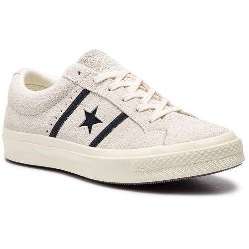 Sneakersy - one star academy ox 163269c egret/black/egret, Converse, 37-46