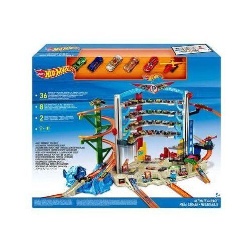 Mattel Mega garaż ze zjeżdżalnią hot wheels cmp80