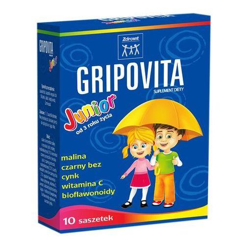 ZDROVIT Gripovita Junior proszek 10g 10 saszetek (proszek)