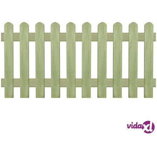 vidaXL Panel ogrodzeniowy, impregnowana sosna, 170x80 cm, 6/9 cm (8718475567394)