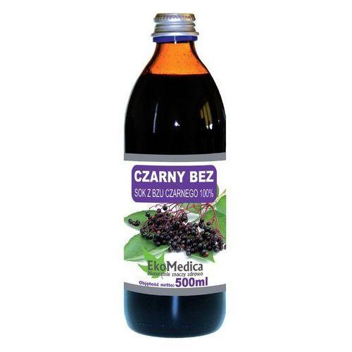 Ekamedica Sok z czarnego bzu 100% 500 ml