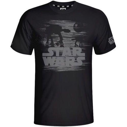 Koszulka star wars at-at (rozmiar m) czarna + wybierz gadżet star wars gratis do zakupionej gry! + zamów z dostawą jutro! marki Good loot